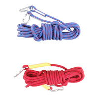 Wholesale Durable Outdoor Survival Paracord Carabiner m mm High Strength Professional Mountaineering Rock Camping Climbing Safety Rope Y2200