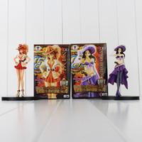 anime figures sexy - Anime One Piece Nico Robin Nami Sexy Figure Grandline Lady th Anniversary PVC Action Figure Model Toy cm retail