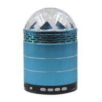 active loud speakers - TF AUX LED Colorful subwoofer mini Speaker Portable Speaker Loud Speakers for Mobile Phone and Computer
