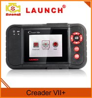 Wholesale 100 Original Launch X431 OBDII Code Reader Creader VII OBD2 CRP123 Multi language