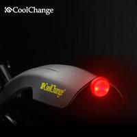 Wholesale CoolChange Bike Mundguard Set mtb Inch Plastic Colour Tyre Tire Front amp Rear Mudguard Fender Set with Rear Tail Light