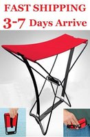 Wholesale Portable Folding Fishing Camping Stool Chairs Seat Outdoor x17x24cm