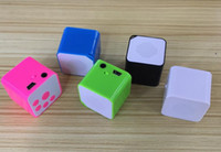 Wholesale Colorful MINI MP3 Player Black Blue White Green Music Player Support Micro SD Card MP3 Music Player Mini Speaker Machine