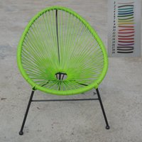 Wholesale 2016 Round Sun Wicker Acapulco Chair Outdoor Stackable Mamasita Chair Acapulco Chair