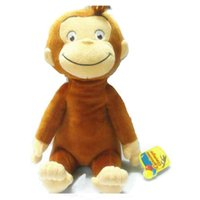 baby doll boots - cm CURIOUS GEORGE PLUSH DOLL Dora the Explorer BOOTS MONKEY PLUSH STUFFED ANIMALTOYS for baby girls