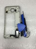 alpha camera - Middle Frame Housing Bezel Camera Cover With Small Parts for Samsung GALAXY Alpha G850 SM G850F