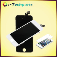 Wholesale Free DHL Shipping Grade A High Quality For iPhone SE LCD Display Screen With Frame Replacement for iPhone C S Black White