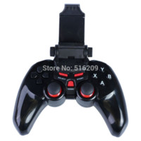 For Wii Wireless Controller Shock Bluetooth Wireless Game Pad Controller Joystick with 6 inch Clamp Holder For Android ios Smart Mobile Phone Tablet PC