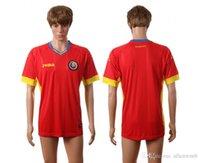 romania-soccer-jersey - romania EURO CUP european national team soccer jersey shirt uniform kit home away kits jerseys man uniforms men shirts tailand quality