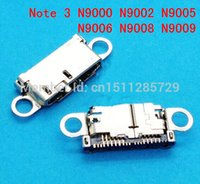 Cheap 10 pieces lot for Samsung Galaxy Note 3 N9000 N9002 N9005 N9006 N9008 N9009 Charger Charging Connector Usb Dock Port Plug