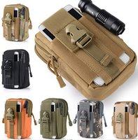 belt loop case - 10PCS New Unisex Outdoor Sport Casual Tactical Belt Loops Waist Bag Moile Military Waist Fanny Pack Smartphone Mobile Phone Case
