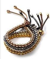 best romantic - MK Michael Kores jewelry alloy Fashion Women Jewelry Best Selling Simple elasticity bead Charm Bracelet Factory