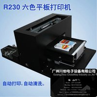 Wholesale Mini Flatbed T shirt printer garment printer textile printer With Small size