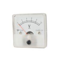analog voltage panel meter - V DC V Voltmeter Voltage Panel Meter w Installing Parts