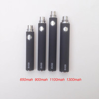 Cheap lectronic Cigarette Parts Electronic Cigarette Battery Good Quality E cigarette EVOD Rechargeable 650 900 1100 1300 mAh Electronic Cigare...