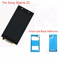 adhesive tape black - Black LCD Display For Sony Xperia Z1 L39 L39H C6902 C6903 Touch Screen Digitizer assembly Adhesive Tape