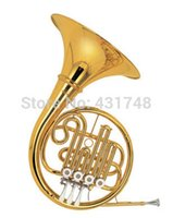 Wholesale Bb A Single Row French horn Valve Flats Brass wind Musical Instrument Factory Supply