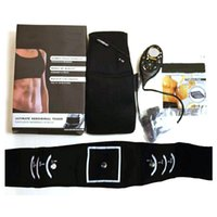 Wholesale slender Male Female System Abdominal Muscle Belt AB Rocket Core Abs Workout Belt Best price and quality