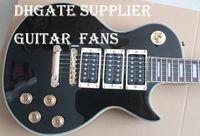 Wholesale Custom Peter Frampton Signature Ebony Fingerboard Electric Guitar Gold Hardware Gold Speed Knobs Pickups Block MOP Fingerboard Inlay