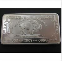 american buffalo coin - Troy Ounce German Buffalo silver Bullion Bar coins German Sliver American Buffalo bar