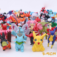 Wholesale 2016 hot style Poke ball action Figures Toys cm Pikachu poke pocket monster PVC Mini Model Toys For Children I201672113