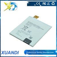 battery for xperia - Replacement battery V mah Buil in Li ion Cell Phone Battery Long Standby For Sony Xperia T2 Ultra D5316 DHL