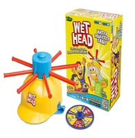 big head caps - NEWEST Wet Head Game WET HEAD CHALLENGE Jokes Funny Toys Roulette Game Tricky Cap New Table Game New Amusement Toys Wet Head Challenge