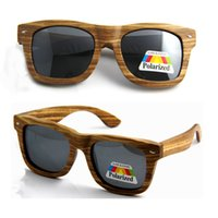 beach wood frames - High quality beach sunglasses women men bamboo wood sunglasses eyewear Christmas OEM eyeglasses UV400 protection