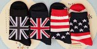 bamboo flags - 12pairs Men Socks High Quality Brand New Men Bamboo Socks cotton spring summer Flag Socks socks for men casual