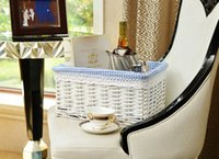 Wholesale 29cm cm cm white Brand New wicker basket