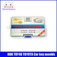 auto moulding machine - HUK TOY48 PICK Locksmith tools Car Key Moulds For cars key duplicating machine Lock Pick Tools