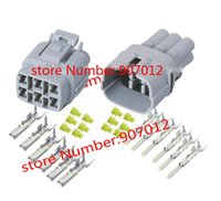 Wholesale sets Pin way mm car connector DJ7069Y Car Waterproof Electrical plug for car Motorcycle ect