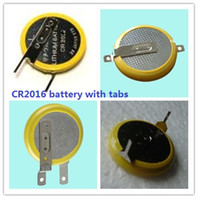 battery tab welding - One Welding CR2016 Button cell battery with Pins Tabs