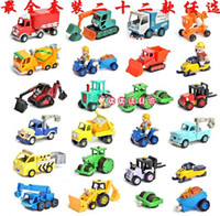 Wholesale In Gift Box Set of Bob the Builder Magnetic Metal Vehicle cm Diecast Die Cast