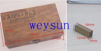 Wholesale set DIY Vintage Teach Wooden Alphabet And Number Stamps Set With Wooden Box