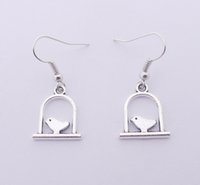 Wholesale Hot Sale Alloy Bird Earrings E3697