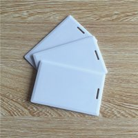 Wholesale RFID Thick Clamshell Card KHz Writable Rewrite T5577 Proximity Access Card duplicator card