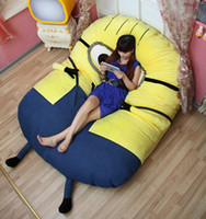beds with tv - 2016 espicable Me Large Minion Plush Stuffed Toys Animals Big Size Doll Soft TV Movie Character Minions Cartoon Bed With Filli