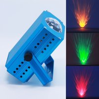 Wholesale 3w LED Water Wave Stage Light Ocean and Fire Effect Projector Lighting for KTV Wedding Home Party