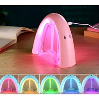 aroma writes - New Ultrasonic USB Humidifier Car Aromatherapy Essential Oil Diffuser Atomizer Portable Electric Led Aroma Mist Maker The screen can write