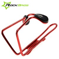 Wholesale ROCKBROS Bicycle Bike Cycling Water Bottle Holder Cycling Bottle Rack Cage Aluminium Alloy Colors