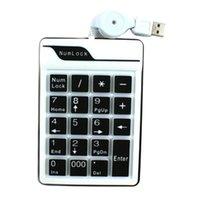Wholesale KEEPING USB Keys Number Keypad Keyboard PC Laptop Notebook Numeric Num Pad Keyboard Mini Keypad