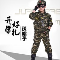 Wholesale Scouting Camouflage Uniforms for Outdoors and Cosplay Good Gifts for Boys