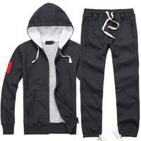 Wholesale 2016 New Spring Products Tracksuit Men Football Brand Track Suit Jacket Siold Fashion Hooded Sweatshirt Zipper Men Shirt Golf Sweatshirt