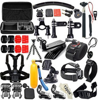 bicycle box size - GoPro accessories set Big size collection box Bicycle Handlebar Black Tripod Mount Adapter Selfie stick Monopod Plastic wrench ect