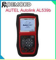 English auto electrical testing - Original Autel AutoLink AL539B OBDII Code Reader Electrical Test Tool AL539B Auto Scanner with High Quality free online update