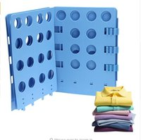 Wholesale Fetoo Laundry Folder Clothes T Shirts Pants Towels Fold Board Organizer Fast Easy and Fun Time Saver