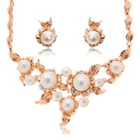 acts bracelet - The New Fashion Wedding Party Act The Role Ofing Is Tasted Suit Set Auger Pearl Necklaces Earrings Two piece Outfit