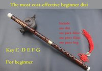 beginner c - most cost effective Chinese bamboo flute dizi musical instrument Key C D E F G for very beginner player or students