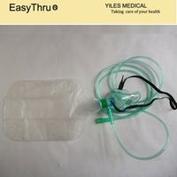 Wholesale 5 a Medical Oxygen Mask with Reservoir Bag and m tube for first Aid Using Mask Size S M L